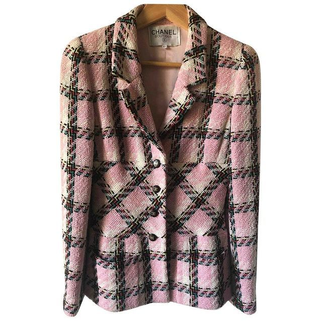 Blazer en tweed Chanel