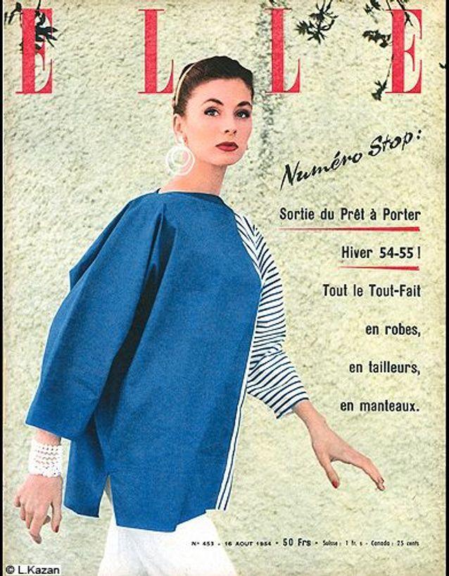 Couverture ELLE magazine 1954