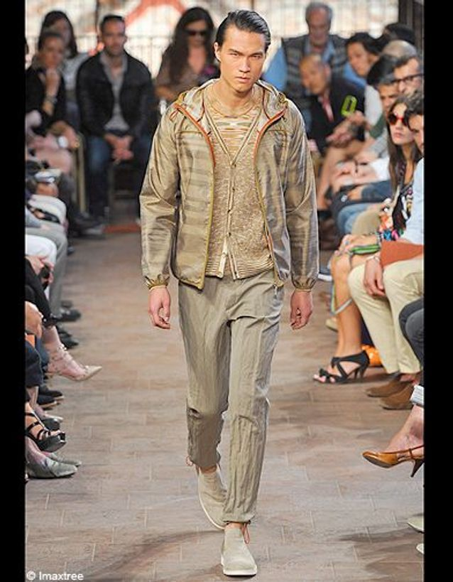 Mode tendance homme defiles milan Missoni