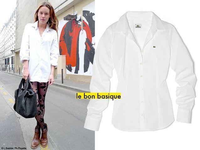 1 La chemise blanche, c'est la nouvelle petite robe noire