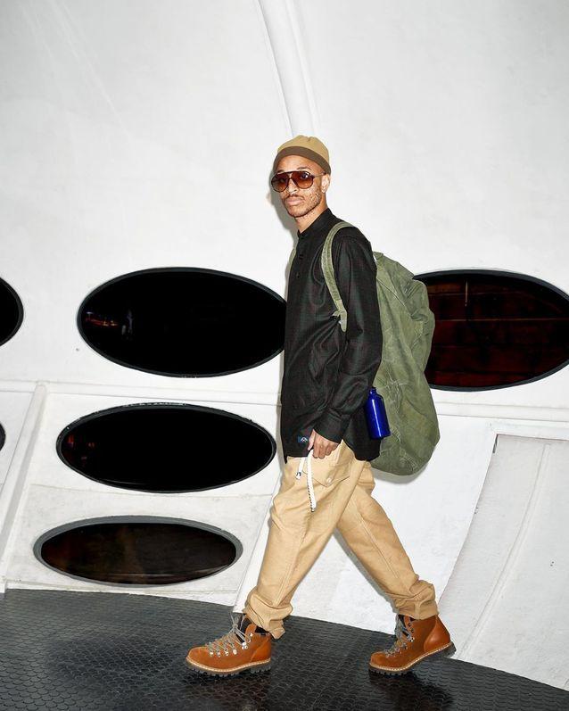 Mode homme bleu de paname