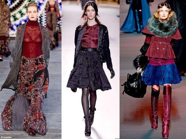 Mode tendance look defiles paris bordeaux toujours chic