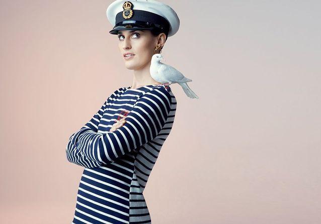 Petit Bateau par Kitsuné : des t-shirts et marinières très rock