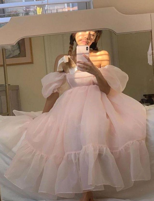La robe en tulle