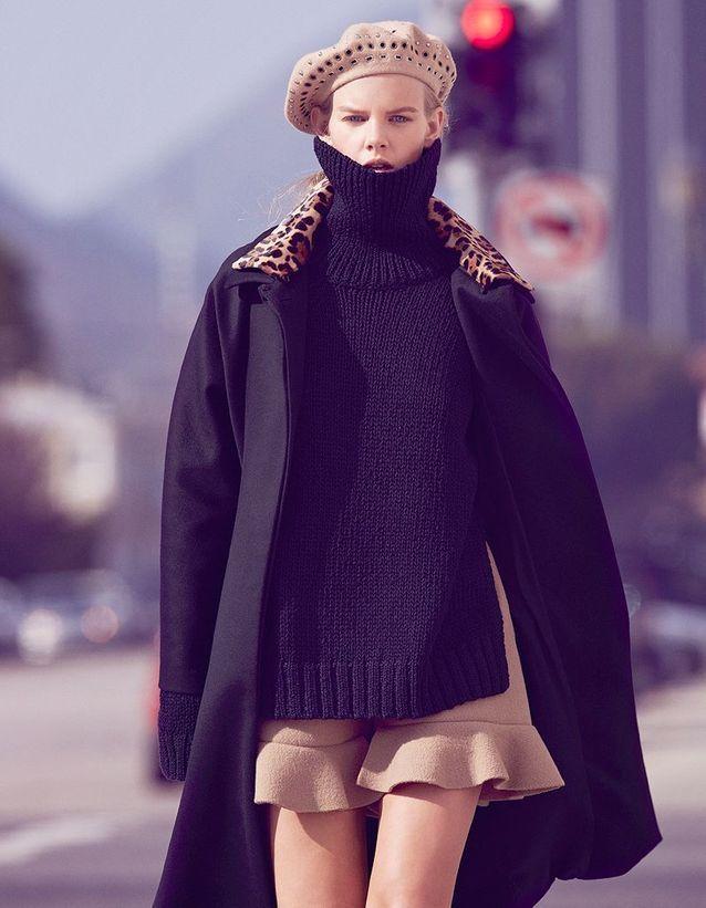Manteau en laine Gucci
