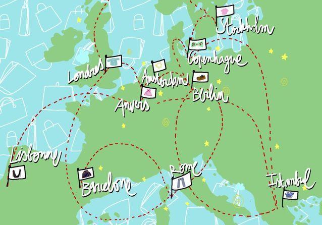 Shopping : tour d'Europe en 30 boutiques