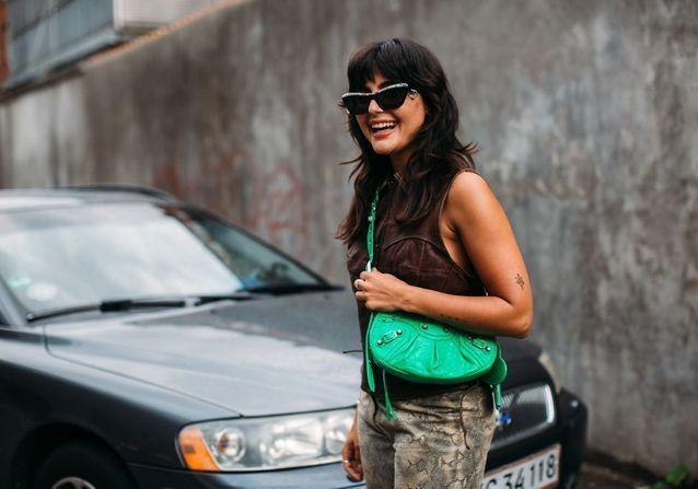 Street style : cette couleur tendance était partout à la Fashion Week de Copenhague