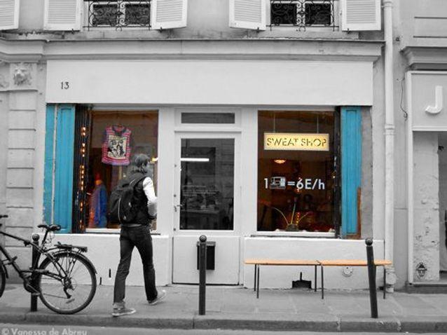« Sweat shop », la couture à la carte