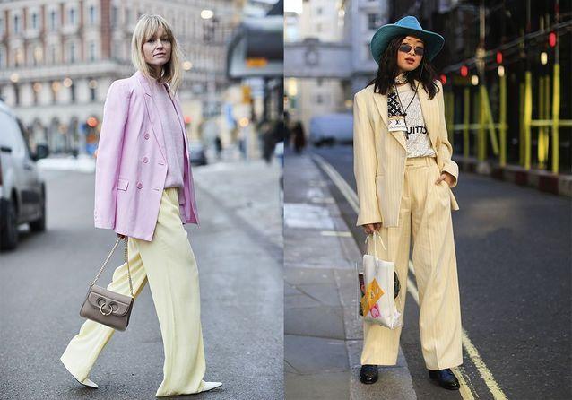 Pourquoi les modeuses portent toutes le tailleur pastel
