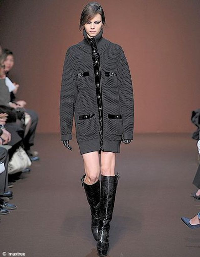 Mode diporama tendance look maille Andrew GN