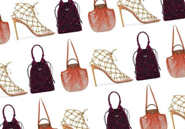 Tendance mode printemps : des sacs aux vêtements, le filet s'impose