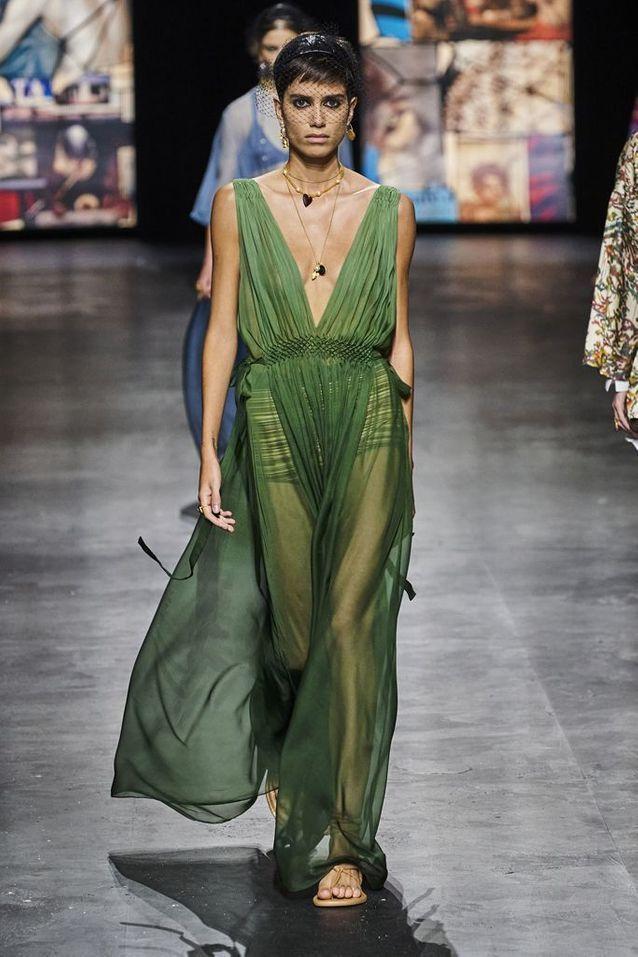 Tendance du printemps-été 2021 : la robe romantique