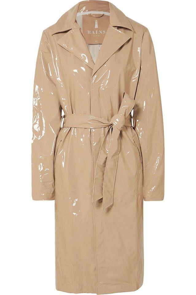 Trench-coat verni Rains