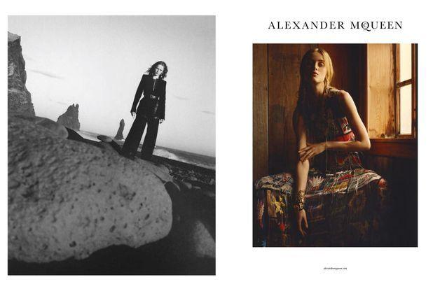 Alexander McQueen automne-hiver 2017-2018