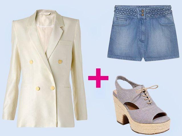 Mode tendance shopping conseil veste blanche style casual