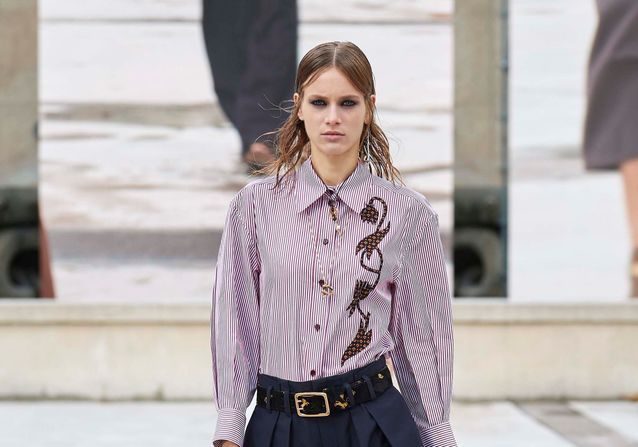 Voici le pantalon que l'on a vu partout à la Fashion Week