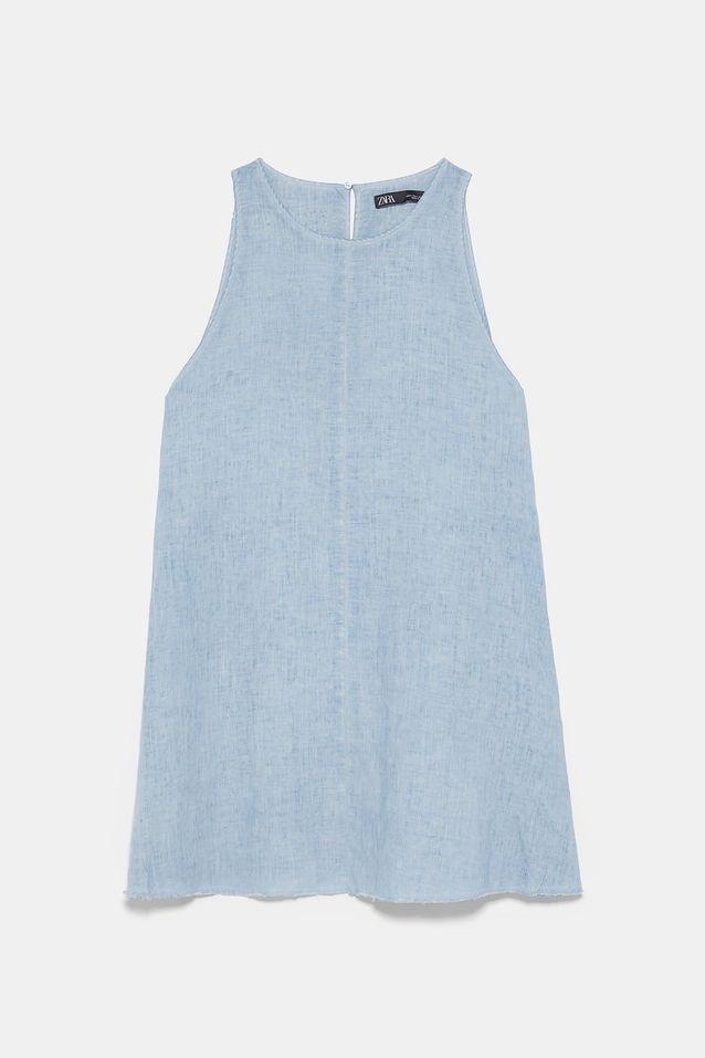 Robe en lin Zara, 39,95 euros