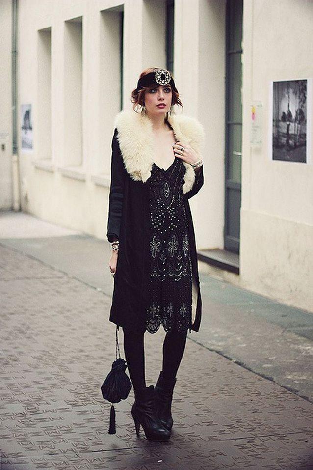 mode ann es 20 manteau on s 39 inspire de la mode des ann es 20 elle. Black Bedroom Furniture Sets. Home Design Ideas