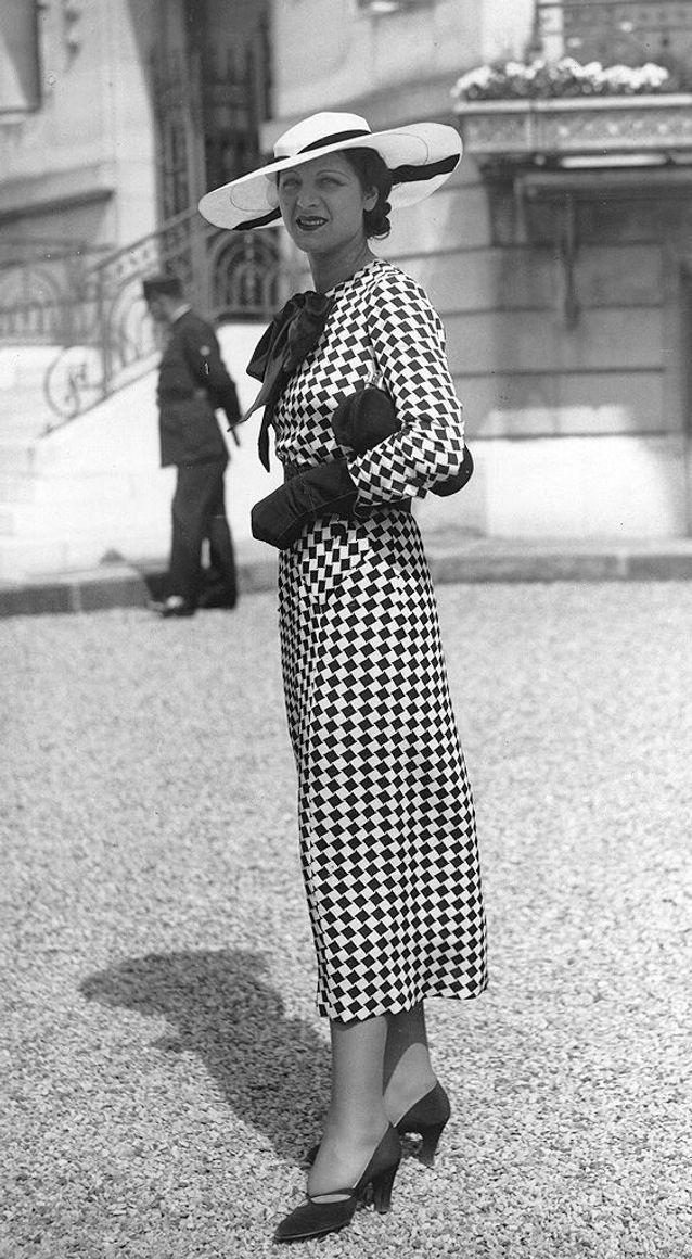 Mode années 30 chapeau