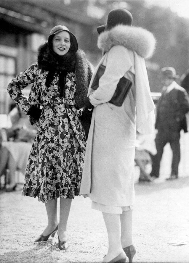 Mode années 30 pour femme