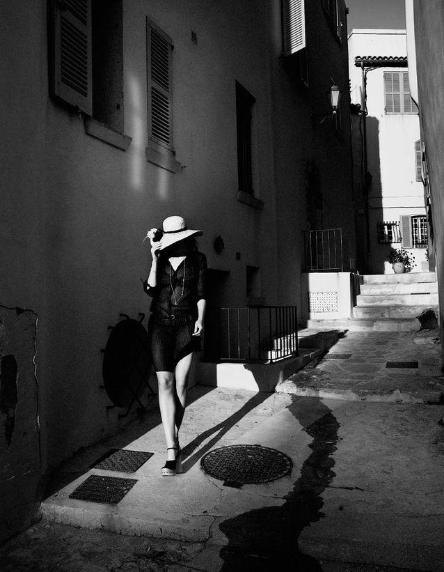 En noir et blanc
