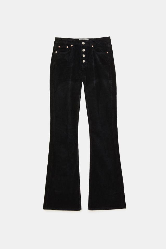 Jean taille haute Zara