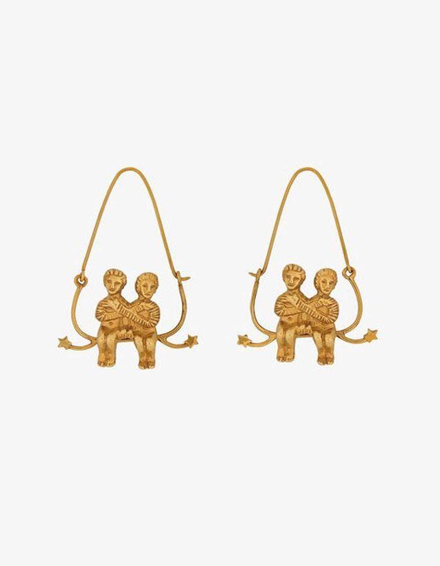 Boucles d'oreilles gémeaux Givenchy