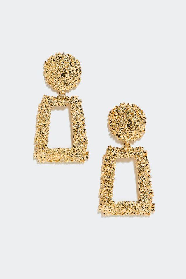 Boucles d'oreilles dorées Nasty Gal