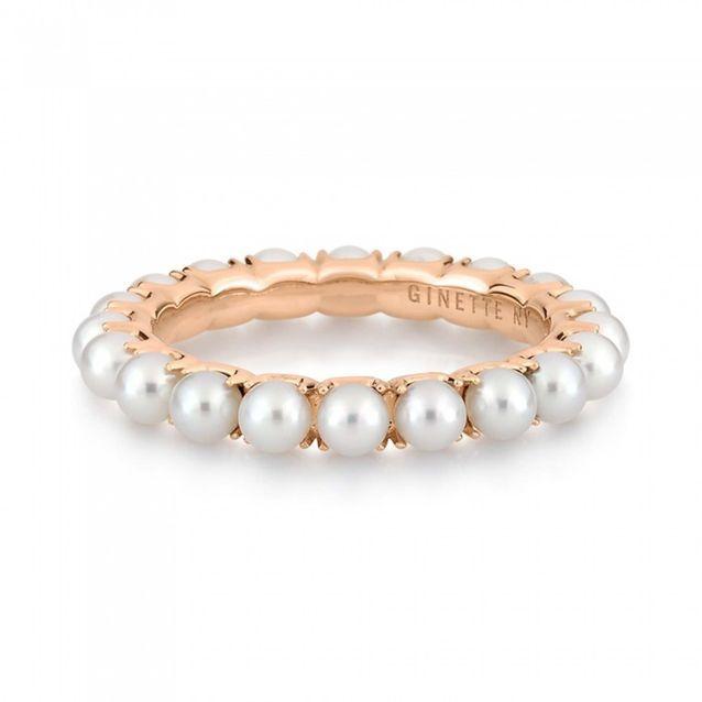 Bague en perles Ginette NY