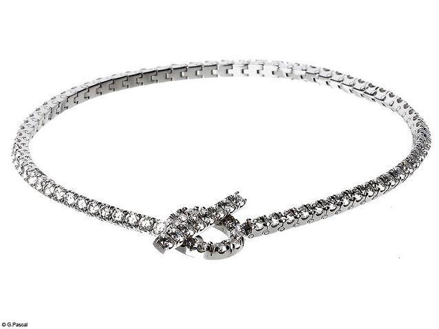 Bracelet diamant Hermès