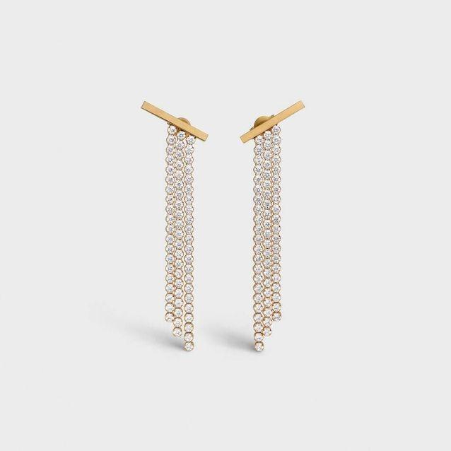 Boucles d'oreilles pendantes Celine