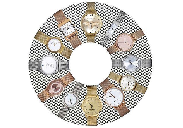 16 montres à bracelet en maille milanaise pour se mettre à l'heure de la Dolce Vita