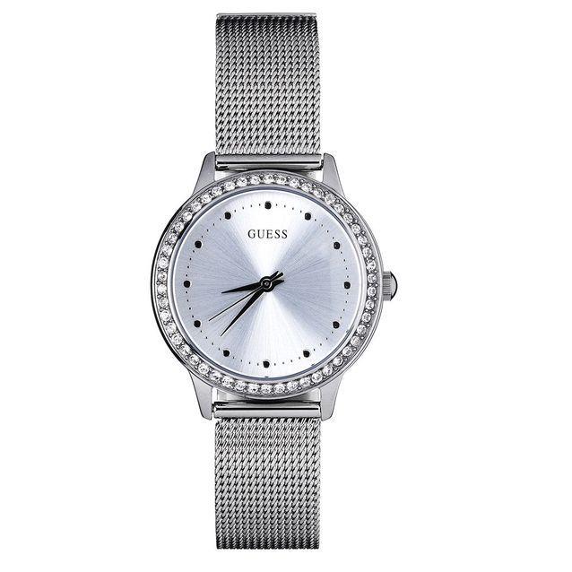 Bracelet montre maille milanaise gris foncé