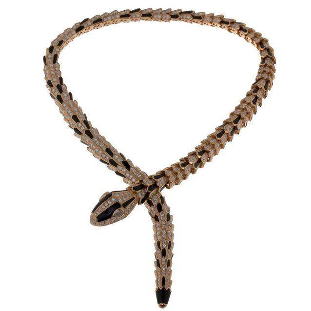 Collier Serpenti Bulgari