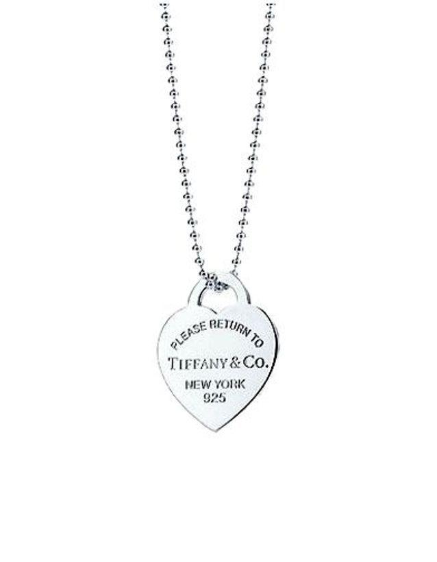 Pendentif Plaque Coeur Tiffany & Co.