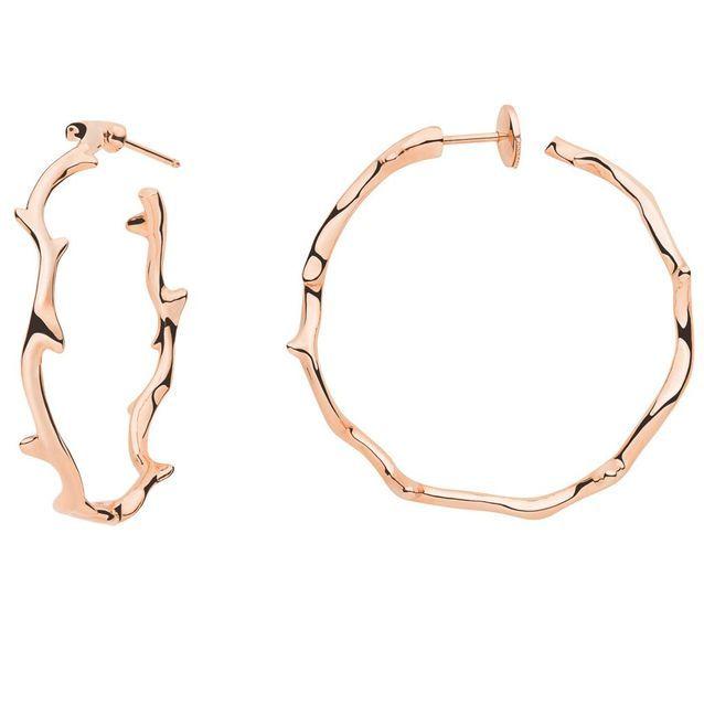 Boucles d'oreilles en or rose Dior Joaillerie