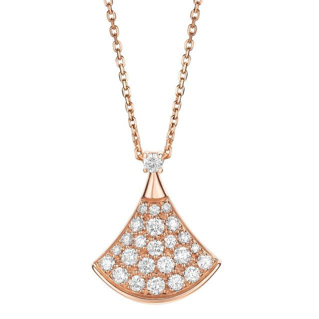 Collier or rose Bulgari