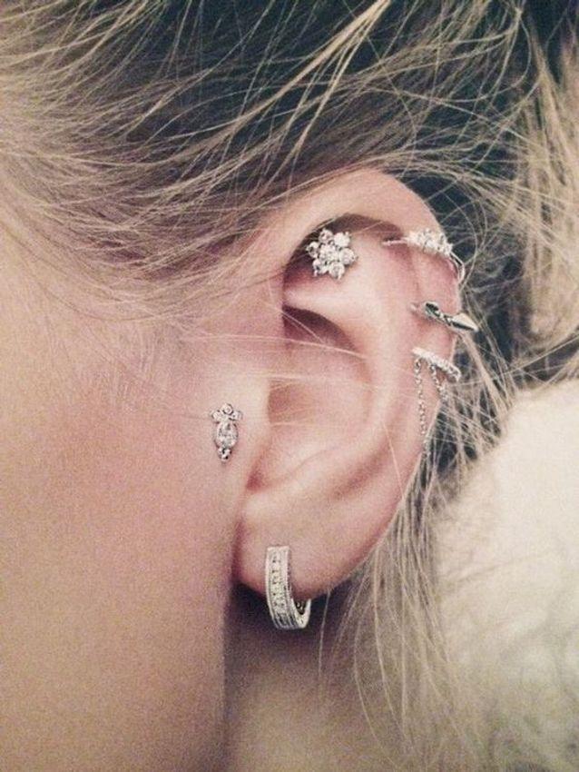 meilleur en ligne vente au royaume uni correspondant en couleur Piercing oreille anneau - Pourquoi le piercing d'oreille est ...