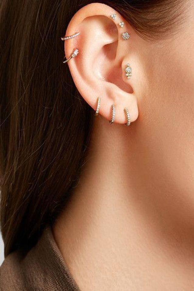 meilleur prix Conception innovante texture nette Piercing oreille diamant - Pourquoi le piercing d'oreille ...