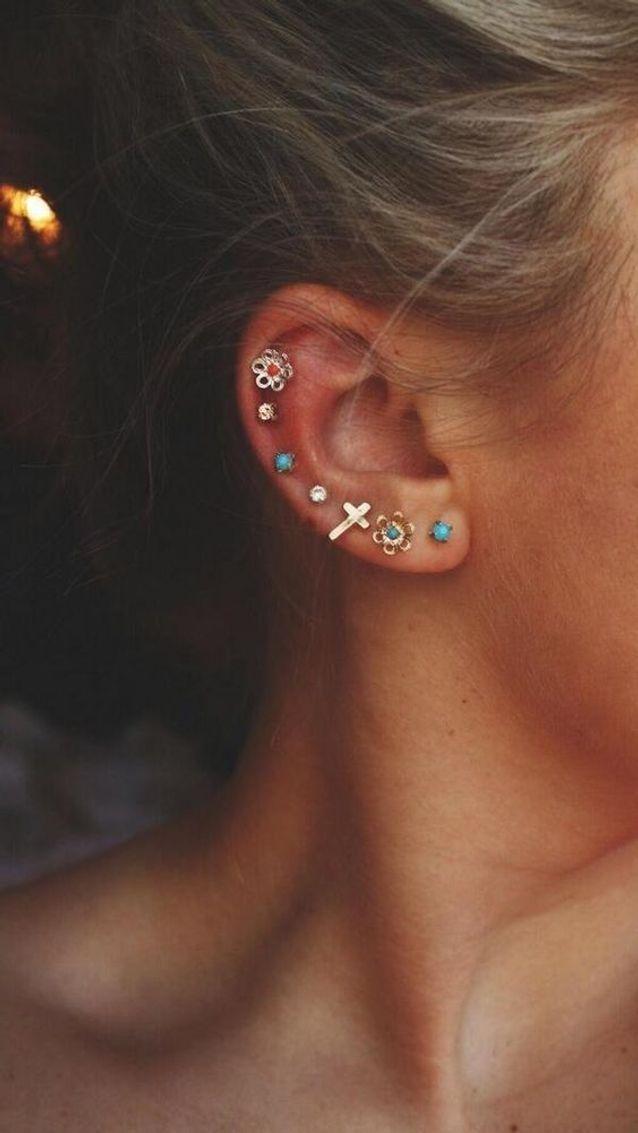 Piercing oreille tendance