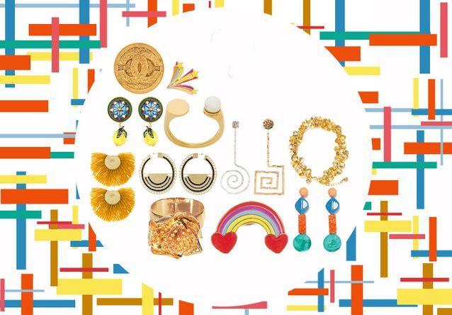 5858bd86718 Soldes bijoux   40 bijoux soldés pour briller tout l été - Elle