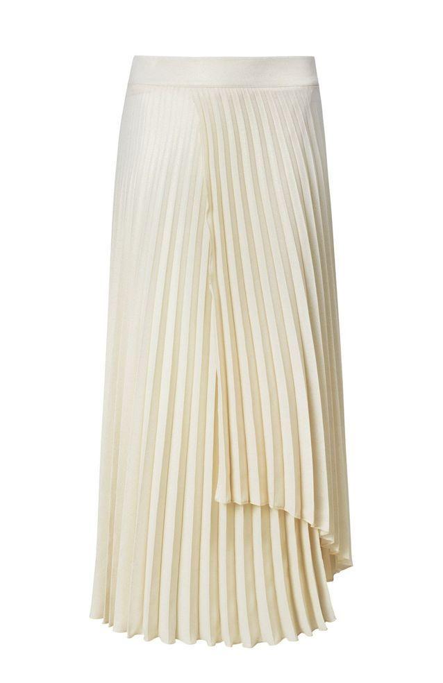 Jupe plissée blanche Mango 20 jupes midi à adopter cet