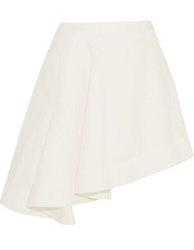 e7d40966f9cf1 Jupe blanche asymétrique Marni - 20 jupes blanches pour amorcer l ...