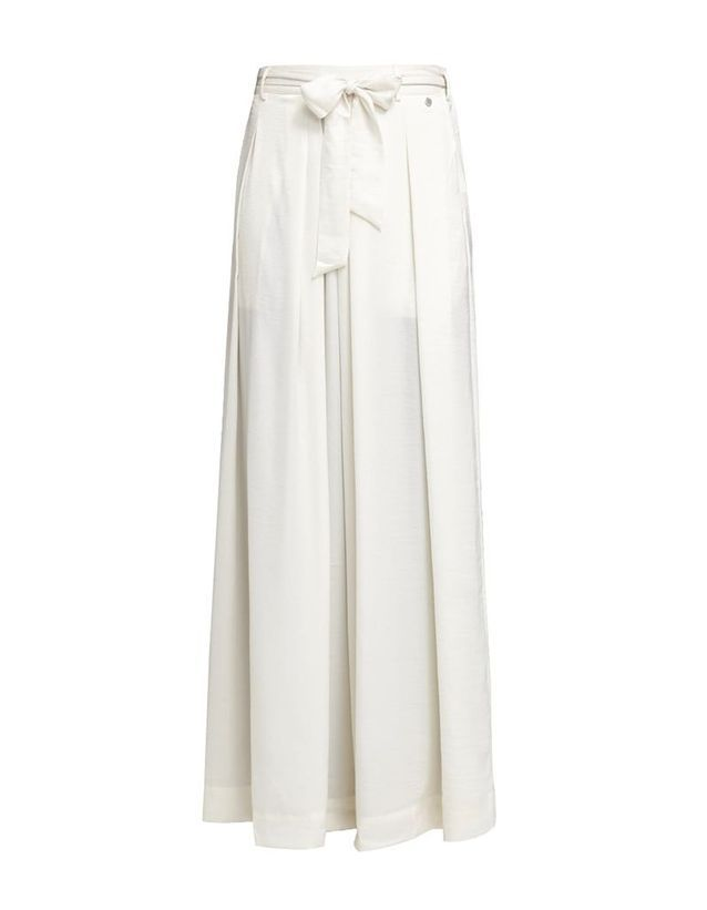 Jupe blanche longue Pepe Jeans London 20 jupes blanches