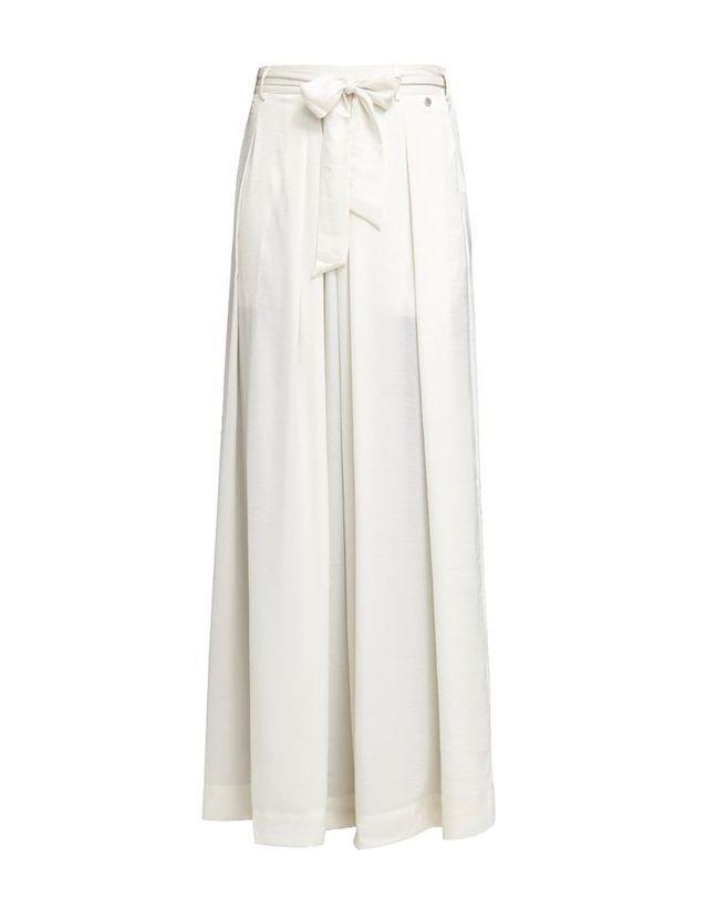 67e3fc8972a49 Jupe blanche longue Pepe Jeans London - 20 jupes blanches pour ...