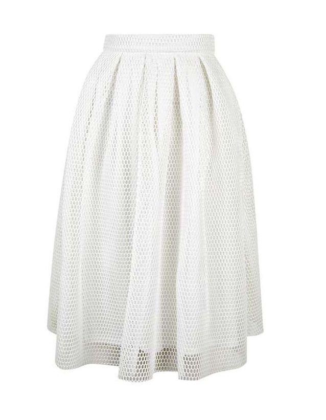 d59f8804d2669 Jupe blanche romantique Topshop - 20 jupes blanches pour amorcer l ...