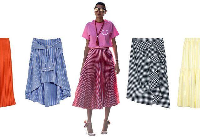 20 jupes longues pour un été romantique