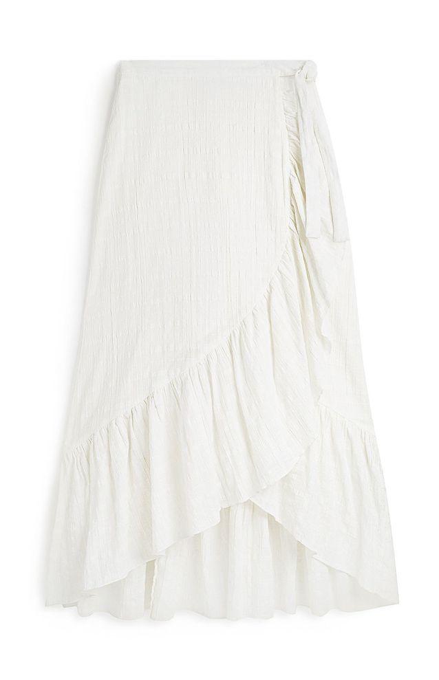 Jupe longue blanche Primark