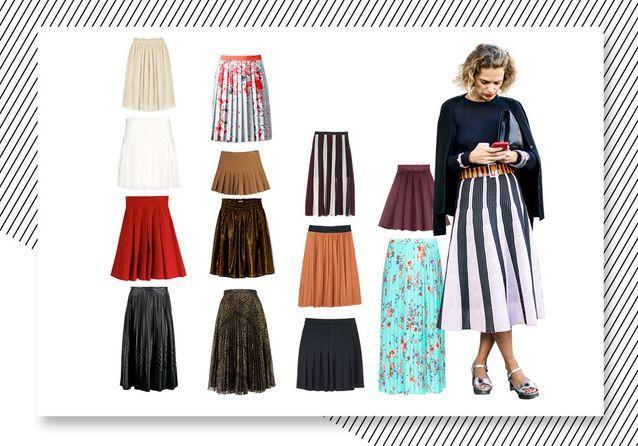 Ces 20 jupes plissées qui nous font craquer