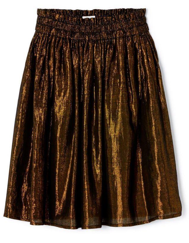 Jupe plissée femme Polder